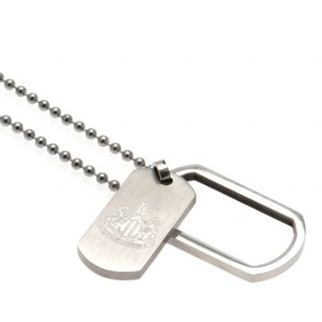 Newcastle United Framed Dog Tag & Chain